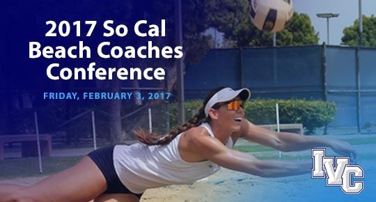 The 2017 So Cal  Beach Coaches Conference